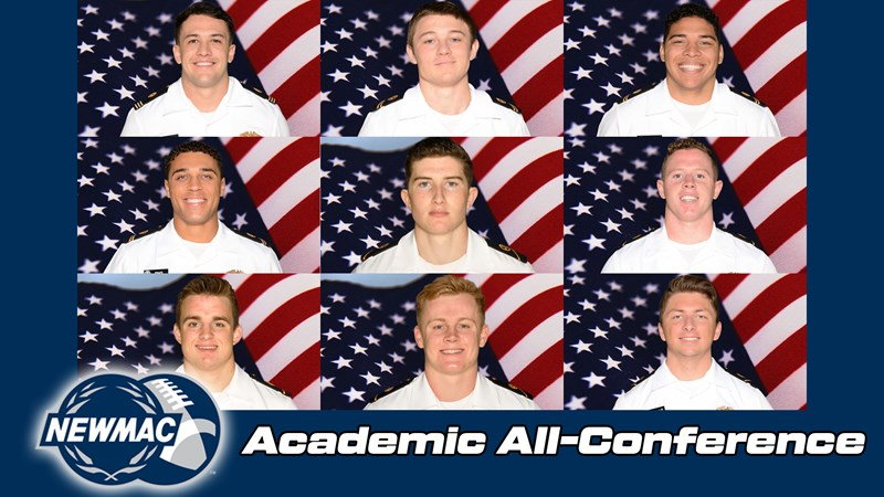 Nine Mariners Named 2020-21 NEWMAC Football Academic All-Conference Honorees - United States Merchant Marine Academy